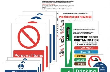 Food Preperation Pack (15 signs)